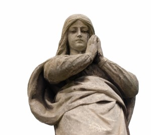 1557873-monument-lady-of-guadalupe-on-a-cemetery